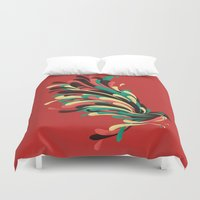 window Duvet Covers featuring Avian by Jay Fleck