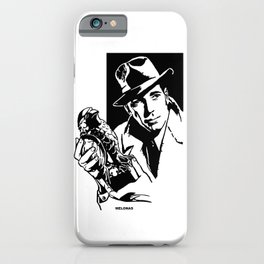 The Maltese Falcon by Peter Melonas iPhone Case