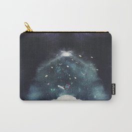 Butterflies over a starry night. Carry-All Pouch