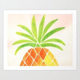 Have a half a pinya! Art Print