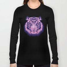 Purple Tiger Long Sleeve T-shirt