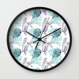 pajaros Wall Clock