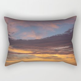 Sky on Fire. Rectangular Pillow
