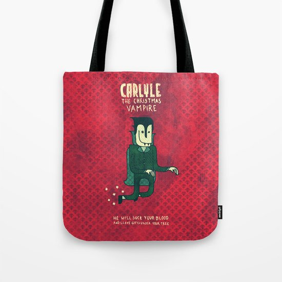 The Christmas Vampire Tote Bag