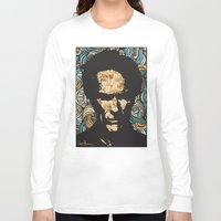 clint eastwood Long Sleeve T-shirts featuring EASTWOOD by Dani Herrera