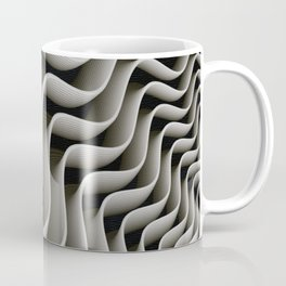 Exo-skelton 3D Optical Illusion Coffee Mug