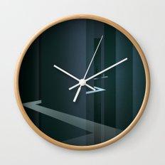 Smooth Minimal - Silver Surfer Wall Clock