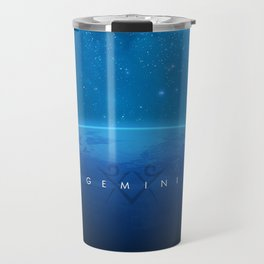 Gemini: Astrological Art Travel Mug
