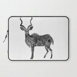 Henna-Inspired Kudu  Laptop Sleeve