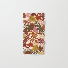 Floral abstract TERRA Hand & Bath Towel