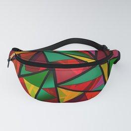 Geometric polygonal Fanny Pack