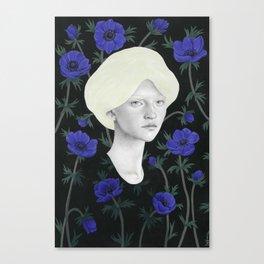 Anémona Canvas Print