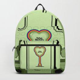 Two Balloon Unlocked Hearts Backpack