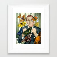 wings Framed Art Prints featuring Wings by Peter Campbell
