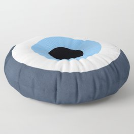 Evil Eye Floor Pillow
