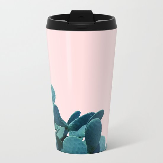 Kaktos #society6 #decor #buyart Metal Travel Mug