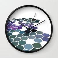 arizona Wall Clocks featuring Arizona by Bakmann Art
