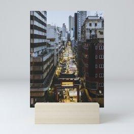 Hong Kong Night Market Mini Art Print