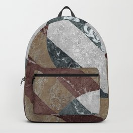 Marble Illusion Backpack