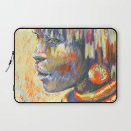 sunny portrait, ethnic girl Laptop Sleeve