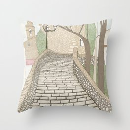 """""""LA PUENTE"""" de Alcañizo Throw Pillow"""