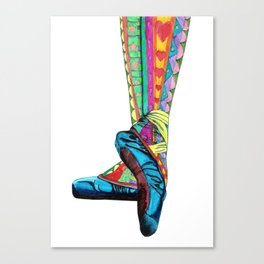 Happy Ballet II Canvas Print