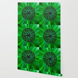 Celtic Knot Star Flower Wallpaper