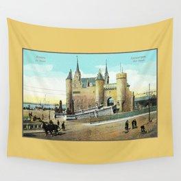 Antwerpen Antwerp Steen medieval castle Wall Tapestry