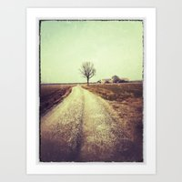 country Art Prints featuring Country by Jessica Morelli