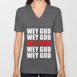 Wey Gud Habesha design Eritrea Ethiopia Gift Idea graphic Unisex V-Neck