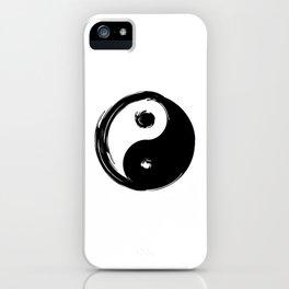 Yin Yang Symbol iPhone Case