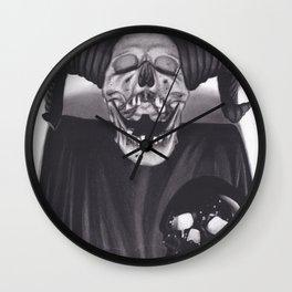 Skull Alter Wall Clock