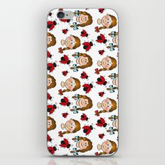 Girls and ladybirds pattern iPhone & iPod Skin
