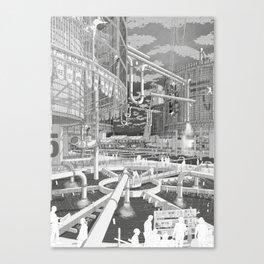 Frackpool 01 Canvas Print