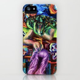 """""""Medusa's Grief"""" Painting iPhone Case"""