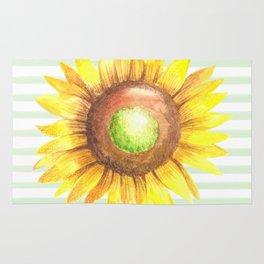 Sunflower Stripe Rug