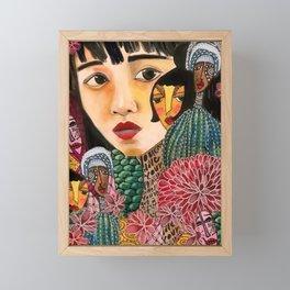 Eurydice Goes to Hadestown Framed Mini Art Print