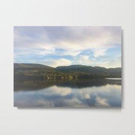 View from Train Window near Myrdal, Norway Metal Print
