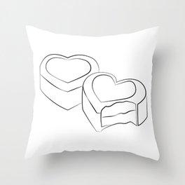 """ Mother's Day "" - Chocolates Throw Pillow"