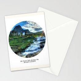 003: Glacier Park, Montana, USA. Stationery Cards