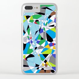 My World is Shattered Clear iPhone Case