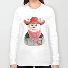 Rodeo Cat Long Sleeve T-shirt
