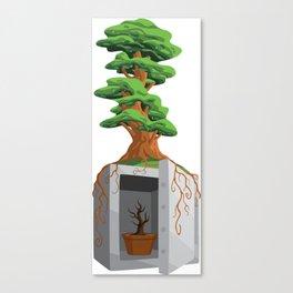 Unlocking Growth Canvas Print