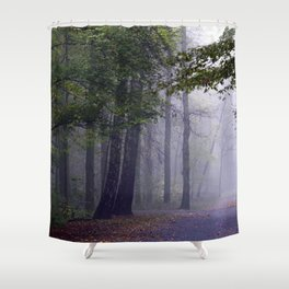 MISTY DAY Shower Curtain
