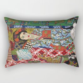 Ukiyoe-Me Rectangular Pillow