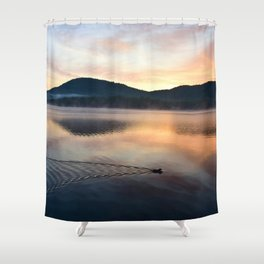Night's End: Making Ripples Shower Curtain