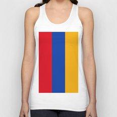 Flag Of Armenia Unisex Tank Top
