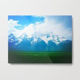Teton Mountains Metal Print