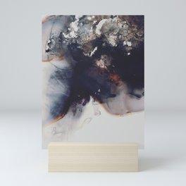 left to smolder Mini Art Print