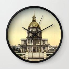Les Invalides, Paris, France Wall Clock